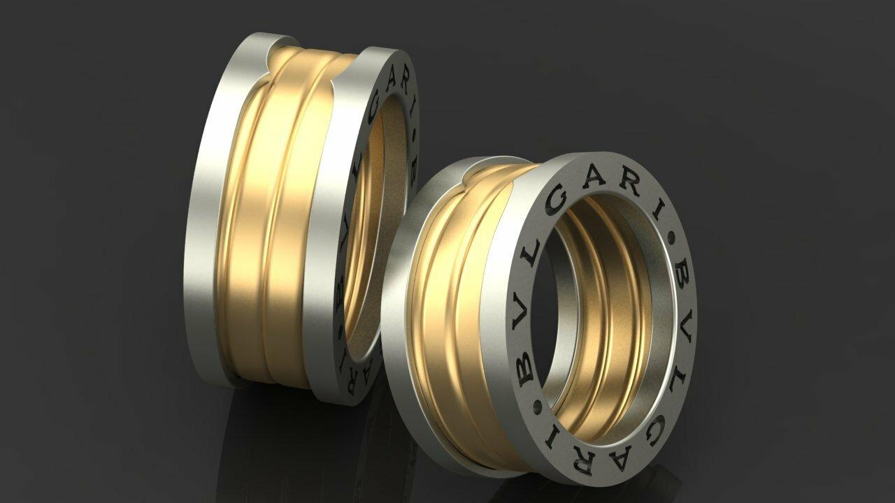 кольца со знаком безконечности