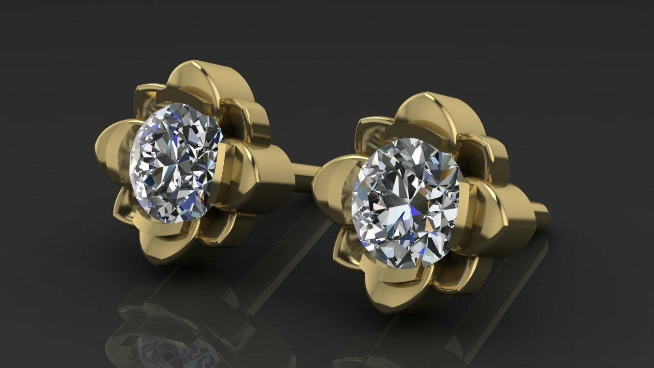 Перстни золотые без камней женские