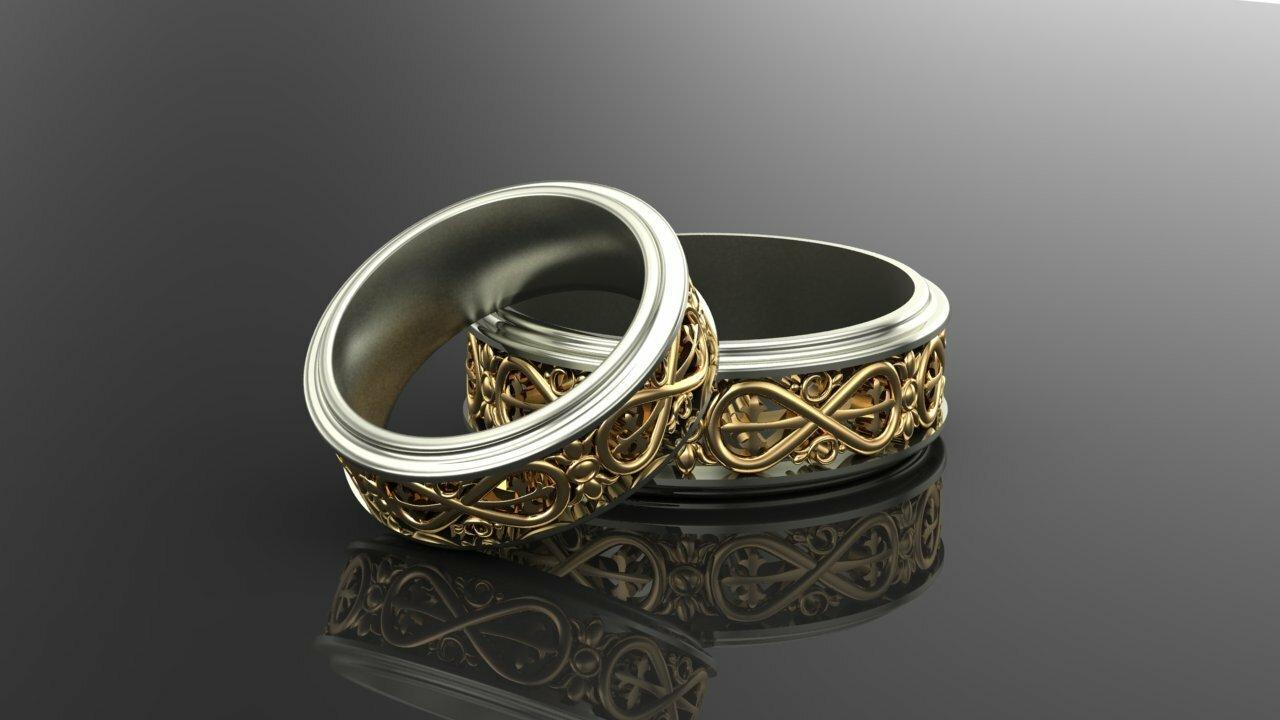 кольцо с знаком бесконечности купить спб